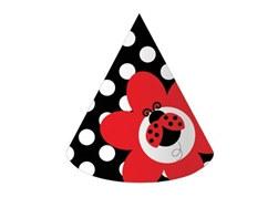 ladybug party hats