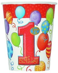 1st birthday hot/cold cups