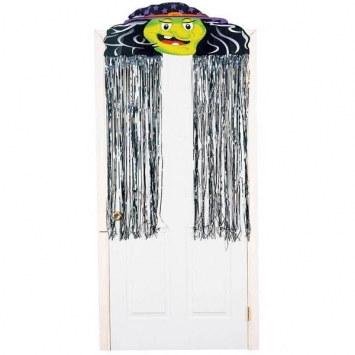 witch metallic door curtain