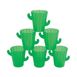 Cactus Shot Glass