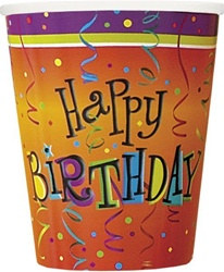 lively birthday hot/cold cups