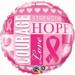 Breast Cancer Inspirations Balloon 18 inch