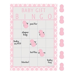 Little Peanut Pink Bingo Game