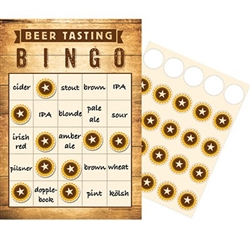 Beer Party Bingo