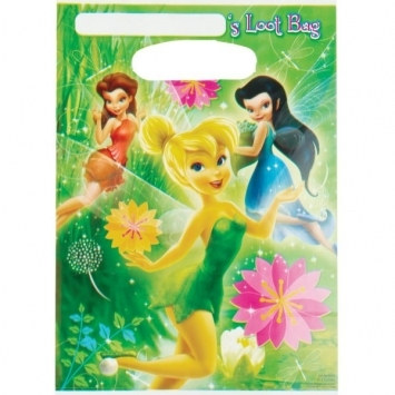tinker bell loot bags