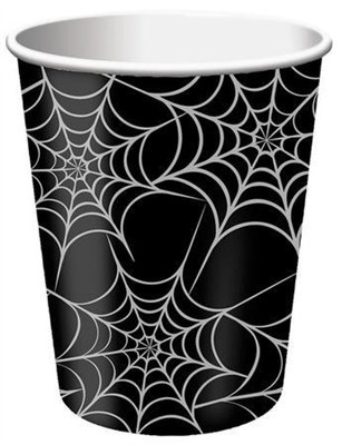 spider web hot/cold cups
