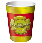 Fire Truck Hot/Cold Cups