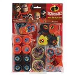 Incredibles Mega Mix Favors