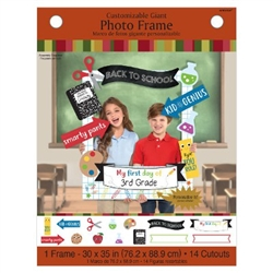 Back to School Giant Photo Frame