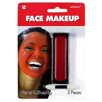 red face paint