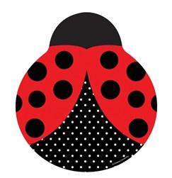 ladybug lunch plates