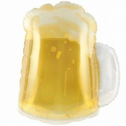 Beer Mug Mylar Balloon