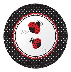 ladybug dinner plates