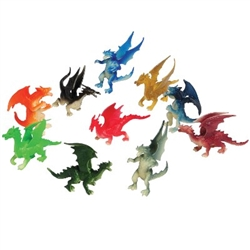 Imagine dragons in every nook and cranny of your next fantasy themed party. Spread our Mini Dragons around for a fun dragon hunt!