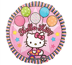 Hello Kitty Mylar Balloon
