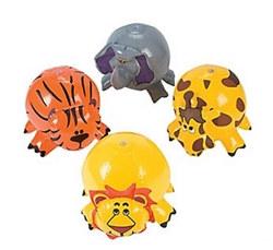inflatable jungle animal beach balls