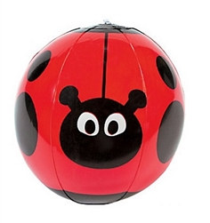 inflatable ladybug beach ball