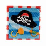 Treasure Map Beverage Napkins (16/pkg)
