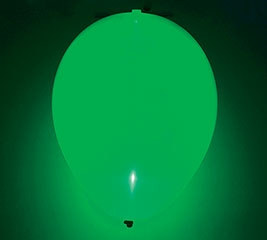 Glow Green Latex Balloon
