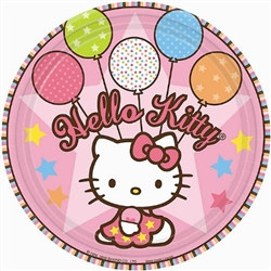 hello kitty dessert plates