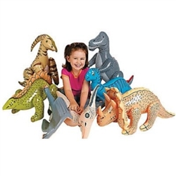 Jumbo Inflatable Dinosaurs - add a Jurassic twist to your next party!