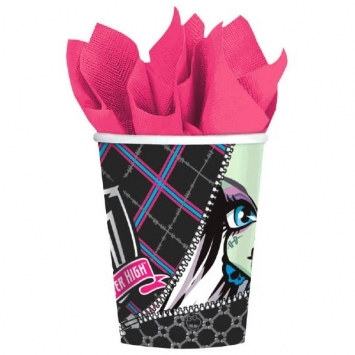 monster high hot/cold cups