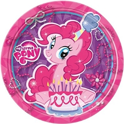 my little pony round plate