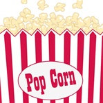 Popcorn Party Beverage Napkins