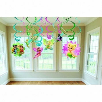 tinker bell value pack foil decorations swirls