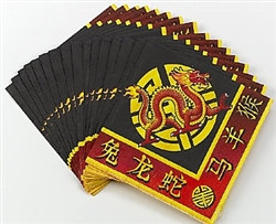 chinese new years lunch napkins