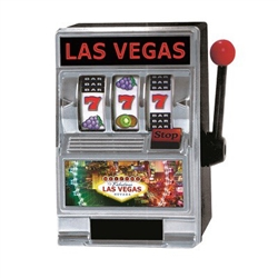 L.V. Slot Machine Bank