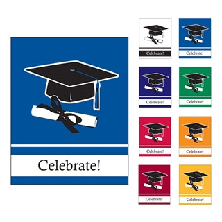School Colors Graduation Invitations - 25/pkg (Select Color)