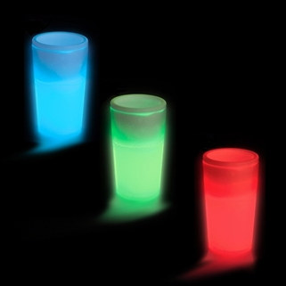Light Up 1.5 oz Shot Glasses - 1/pkg (Select Color)