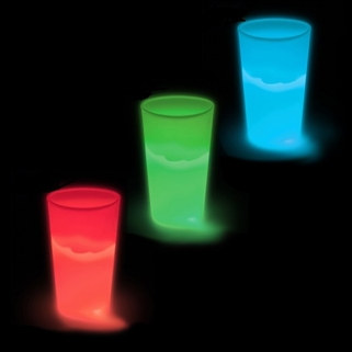 Light Up 12 oz Drinking Cups - 1/pkg (Select Color)