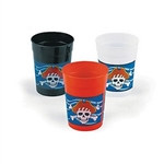 Pirate Plastic Cups, 12/pkg