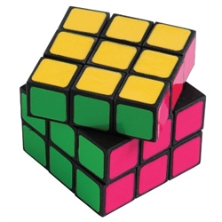 Solve your party puzzle with our Neon Puzzle Cube