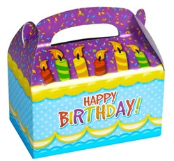 happy birthday treat boxes