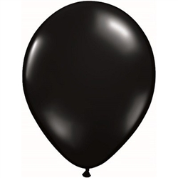 Black Balloons 11 inch - 25 per package