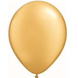 Gold Balloons 11 inch - 25 per package