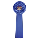 Birthday Boy Deluxe Rosette Ribbon