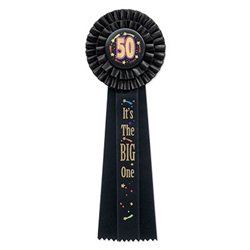 50 its the big one deluxe ribbon