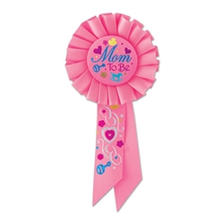 Mom To Be Rosette Ribbon