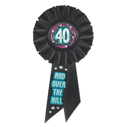 40 and over the hill ribbon