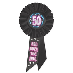 50 and over the hill ribbon