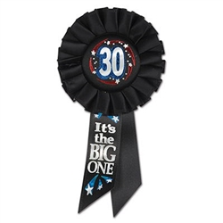 30 it's the big one ribbon