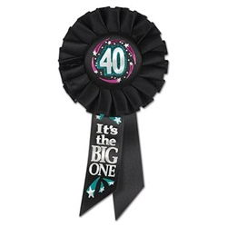 40 it's the big one ribbon