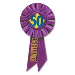 50 Something Rosette Ribbon
