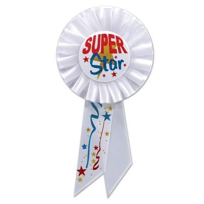 super star rosette ribbon