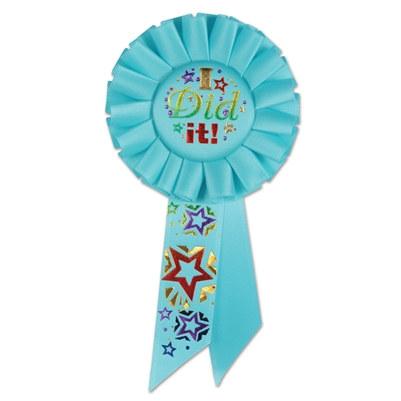 i did it! rosette ribbon