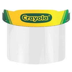 Crayola™ Color Your Own Face Shields - Bulk 25 Count